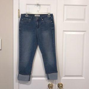 Women's Henry & Belle Kent Cuff Jeans size 29 sz 8